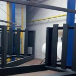 What is the role of powder coating in renewing and adding durability to the old items?